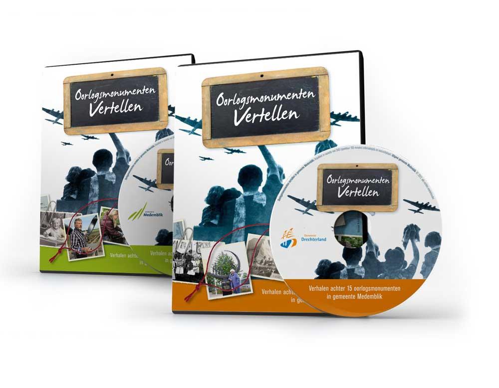 DVD-Box Oorlogsmonumenten Vertellen Drechterland
