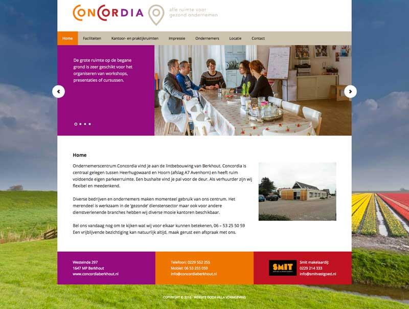 Concordia-schermafbeelding